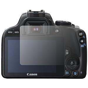 """2 x Slabo Displayschutzfolie Canon EOS 100D Displayschutz Schutzfolie Folie """"Crystal Clear"""" unsichtbar MADE IN GERMANY"""