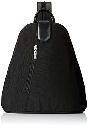 Baggallini Urban Backpack, Black/Sand, One Size
