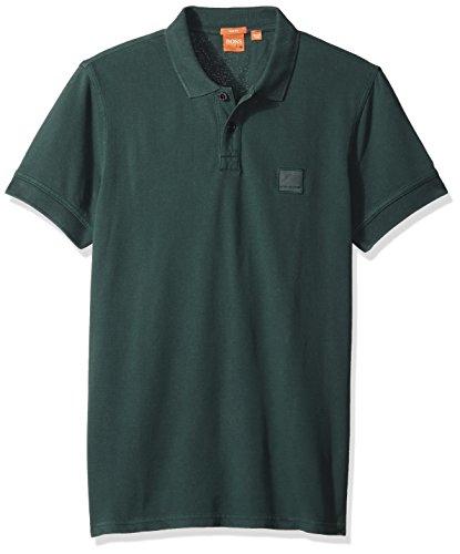 boss-orange-mens-pascha-slim-fit-saltwash-pique-polo-shirt-teal-x-large