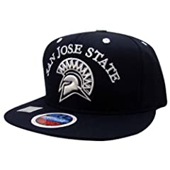 Buy NCAA San Jose State Spartans Bob Style Snapback Hat, Black by Eclipse Specialties