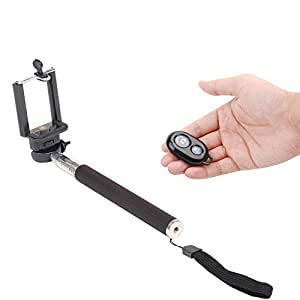 GFD Premium Selfie Stick With Bluetooth Wireless Remote For Karbonn A51