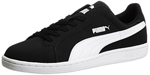 Puma - Puma Smash Buck, Sneakers, unisex, colore black/white, taglia 42.5 EU (8.5 Erwachsene UK)