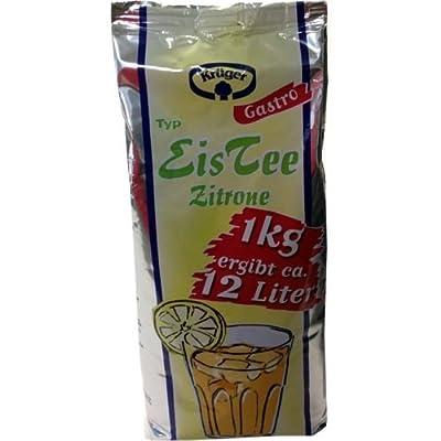 Krüger Eistee Zitrone automatengeeignet 1kg von Krüger - Gewürze Shop