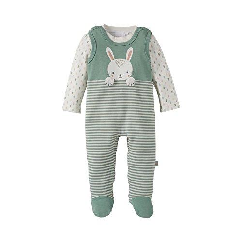 BORNINO Stramplerset Shirt + Strampler Baby Baby-Set, Größe 50/56, mehrfarbig
