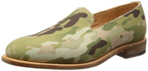 [マークマクナイリー] Mark McNairy Plain Slipper Shoe 9827MULTI Multicam Fabric(Multicam Fabric/9H)
