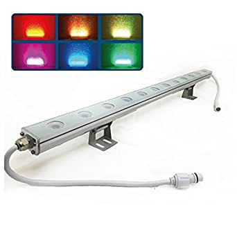 RGB Linear Bar Wall Washer LED Light - Color Changing Multicolor - Lighting Effect - Outdoor ...
