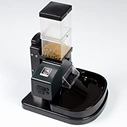 CSF-3 Cat Super Feeder with Digital Timer, Chute Cover, Stand and Bowl, Automatic Pet Feeder for up to 8 Daily Meals--Optional in-between Main Meal Snack Portions Possible 4 3/4 Cups Capacity Optionally Expandable