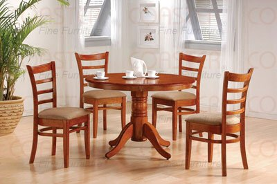 Cheap Summit 7 Piece Dining Table Set with Glass Top by Coaster – 101211 (B002V1GXWU)