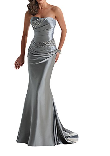 Yougao-Womens-Floor-Length-Strapless-Evening-Party-Bridesmaid-Dresses
