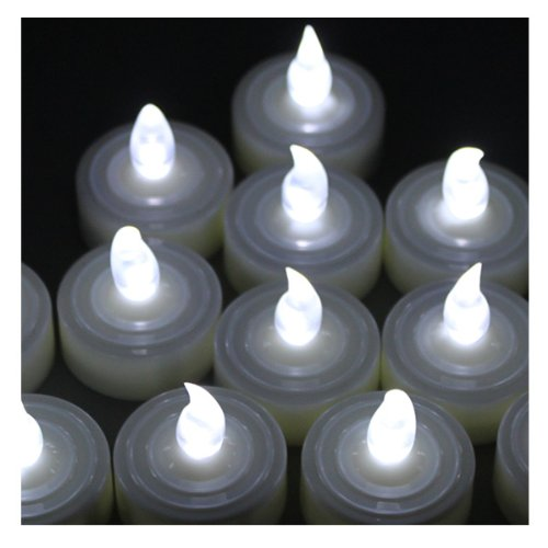 Battery-Operated Flamess Tealights LED Candles