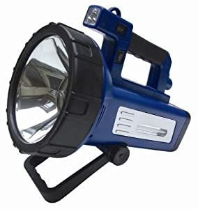 10 MILLION HALOGEN CANDLE POWER CORDLESS & RECHARGEABLE SPOTLIGHT/SEARCH/HUNTING LIGHT/TORCH