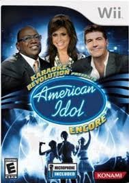 414j zwVsGL Buy  Wii Karaoke Revolution Presents: American Idol Encore