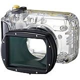 Canon WP-DC42 - Carcasa para fotografía subacuática Canon PowerShot SX 220/230 (estanco al agua, resistente a los elementos), transparente