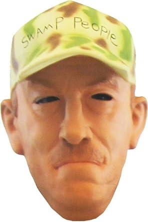 Amazon.com: Swamp People Troy Landry Mask Costume: Clothing