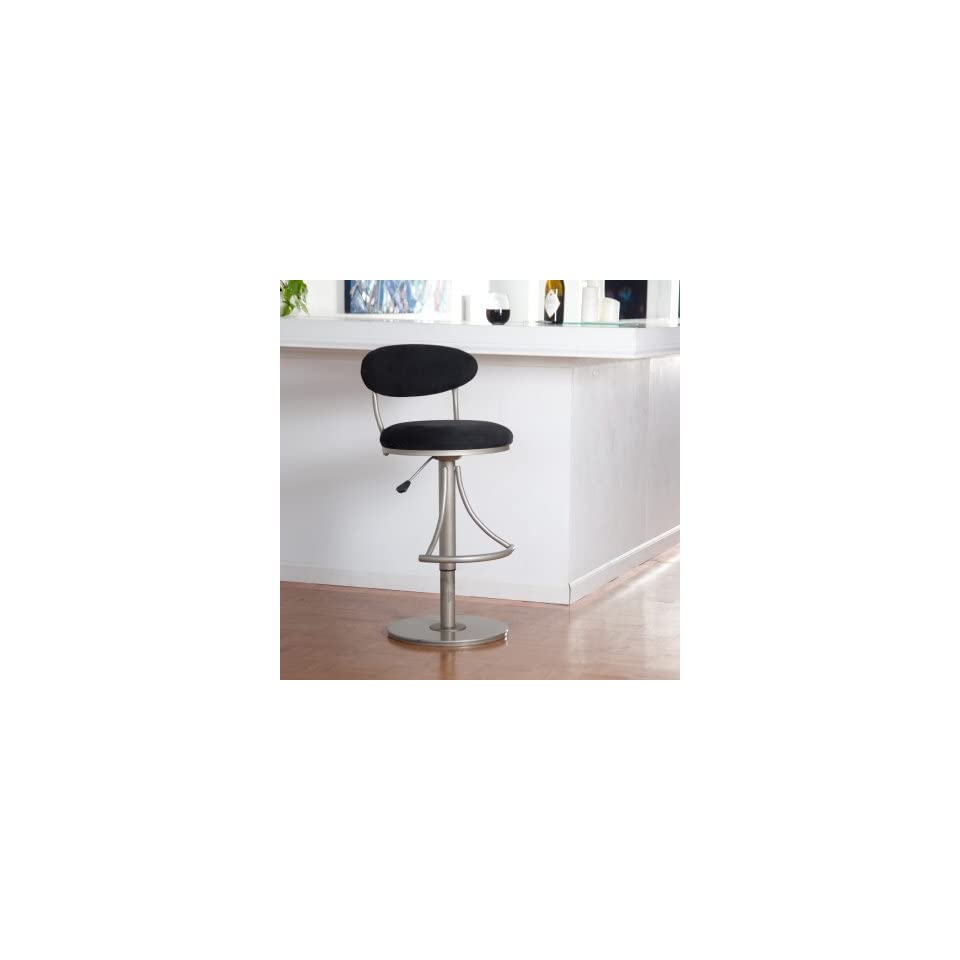 Terrific 24 30H Contemporary Venus Black Swivel Counter Bar Stool On Beatyapartments Chair Design Images Beatyapartmentscom