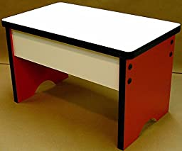 Children\'s Step Stool or Bench Seat (Maroon)