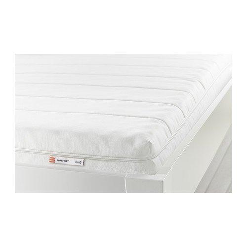 IKEA MOSHULT フォームマットレス 80×200cm かため ホワイト