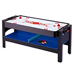 Buy Hathaway Triple Threat 3-in-1 Air Hockey, Billiards, and Table Tennis Table, 6-Feet by Hathaway