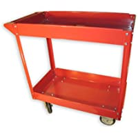 Olympia 600 lb. 2-Shelf Steel Cart