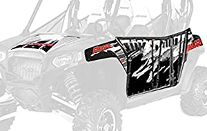 Pro Armor P121405BR Black/White/Red Graphic Kit with Cut Outs