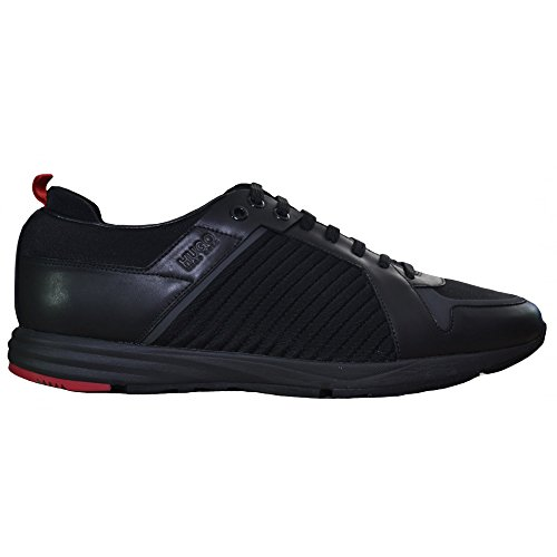 Hugo Boss Men's Hugo Boss Red Men's Hybrid_Runn_Mxma Black Trainers 8 UK/42 Euro thumbnail