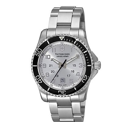 Victorinox Swiss Army Men's 241437 Maverick Silver Dial Watch
