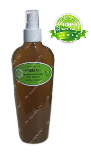 Neem Oil For Skin And Hair Comes With A Sprayer 8 Oz front-1020398