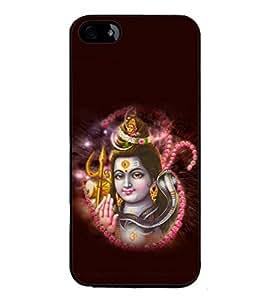 printtech Lord God Om Namah Shivaya Back Case Cover for Apple iPhone 5C