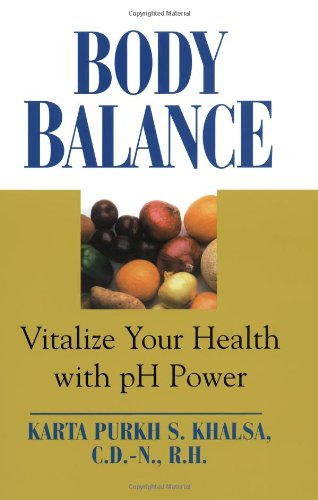 Body Balance: Viatlize Your Health With Ph Power