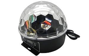 Econoled Mini LED RGB Crystal Magic Ball Effect light DMX Disco DJ Stage Lighting