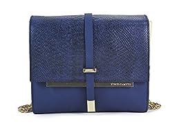 Vince Camuto Dress Blue Leila Shoulder Bag