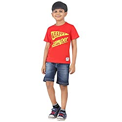 Sodacan Boy's Jeans (SDCS 109_Blue_7-8 Year)