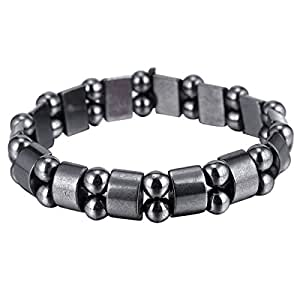 Hematite Powerful Magnetic Bracelet for Arthritis Pain Releif or for Sports Related Therapy