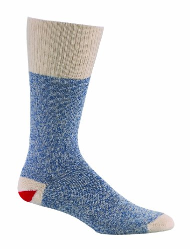 Fox River Medium Blue Original Rockford Red Heel Socks