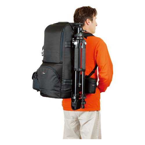 【国内正規品】Lowepro カメラリュック レンズトレッカー 600 AW 2 25L レインカバー 三脚取付可 ブラック 352973