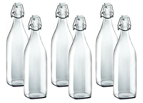 Bormioli Rocco Set Of 6 Swing Bottle - 33 3/4 oz