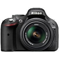 Nikon D5200 24.1MP Digital SLR Camera (Black) with AF-S 18-55 mm VR II Kit Lens + Camera Bag + Free 16GB (Class 10) SD Card