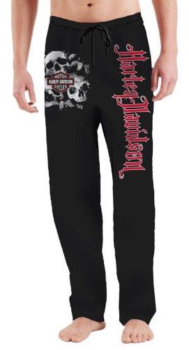 Harley-Davidson® Men's Bone Pile Lounge Pants. Bar & Shield Logo. Large Harley-Davidson Script. 88300