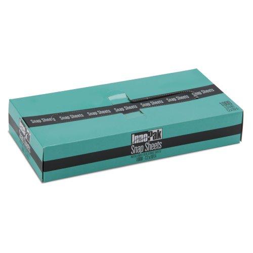 "Box Of 1000 12"" X 10 3/4"" Plastic Deli Wrap And Bakery Wrap"