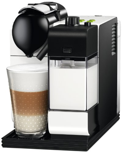 Delonghi EN520.W Nespresso Lattissima Plus Coffee Maker, White
