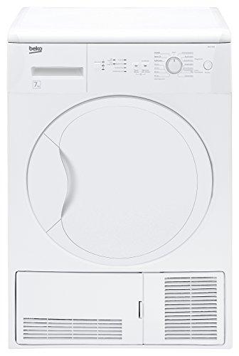 DCU 7230 Kondenstrockner / B / 504 kWh/Jahr / 7 kg / weiß / Kindersicherung / Galvanisiert