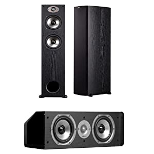 Polk Audio TSx 330T Floorstanding Speakers (Pair) Plus a Polk Audio CS10 Center Channel Speaker