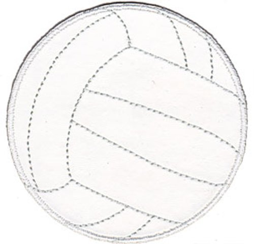 Application Sports Volleyball Patch