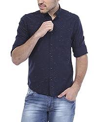 Bandit Navy Slim fit Shirts
