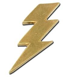 Lightning Bolt Pin - Set of 10 (Gold)