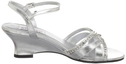Dyeables Women's Peg Wedge Sandal