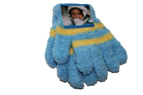 Girls Luxury Cosy-Feel Soft Gloves(BLUE)