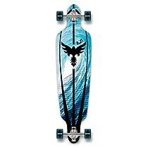 Drop Through Complete Longboard Professional Speed Skateboard (Tsunami)