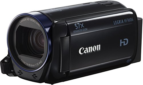 Canon LEGRIA HF R606 Videocamera Digitale, Full HD, Nero