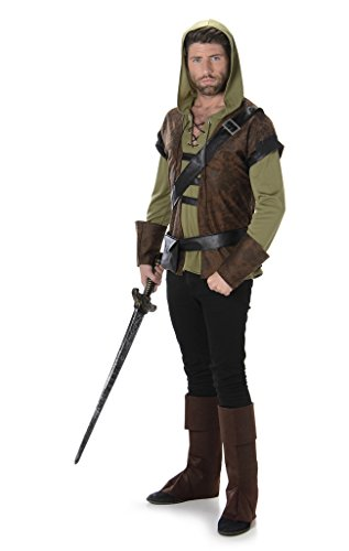 Men's Robin Hood - Halloween Costume (L) (Colonial Rebel Costume)